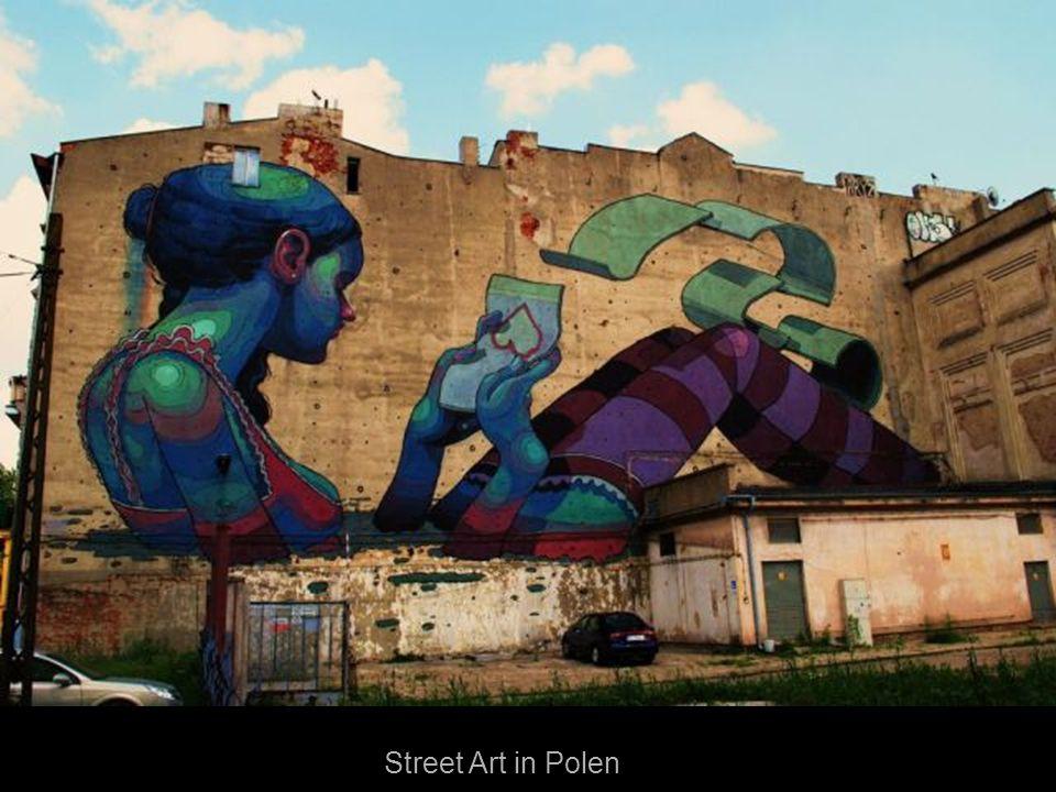 Street Art in Polen