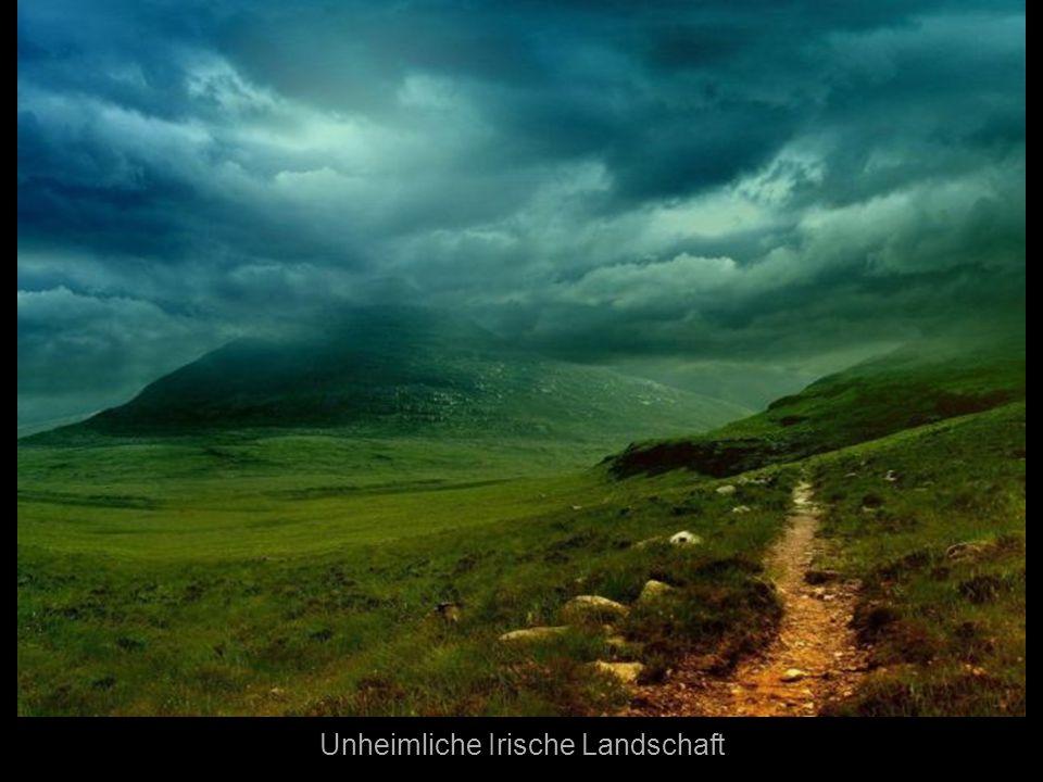Unheimliche Irische Landschaft