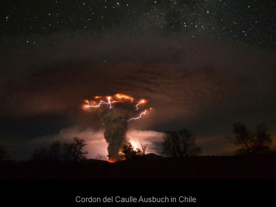 Cordon del Caulle Ausbuch in Chile