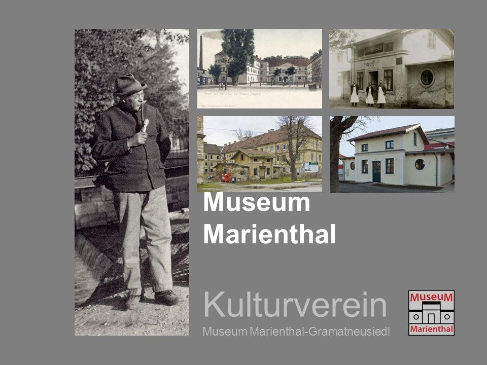 Kulturverein Museum Marienthal-Gramatneusiedl