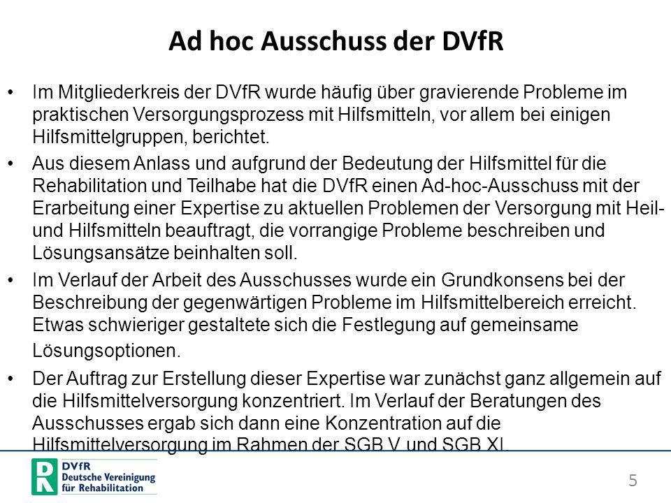 Ad hoc Ausschuss der DVfR