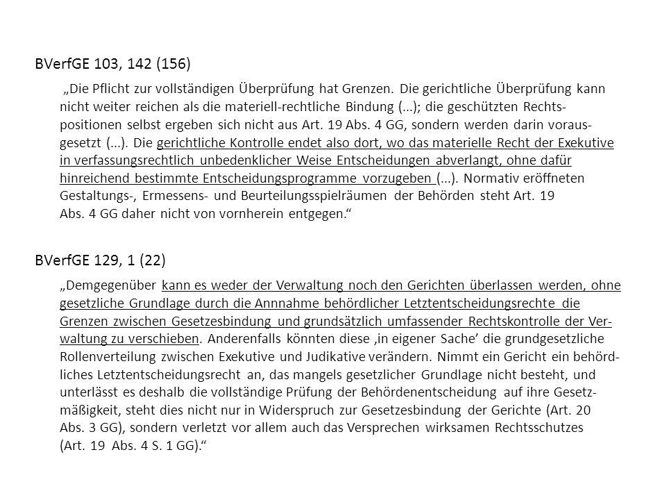 BVerfGE 103, 142 (156)