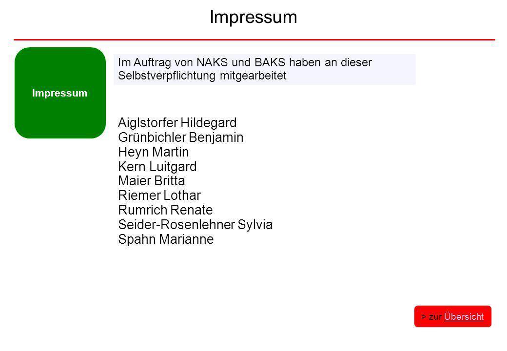 Impressum Aiglstorfer Hildegard Grünbichler Benjamin Heyn Martin