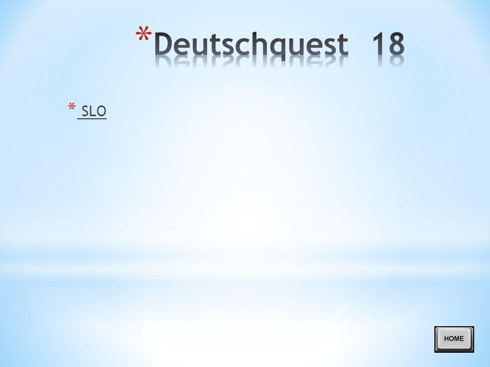 Deutschquest 18 SLO