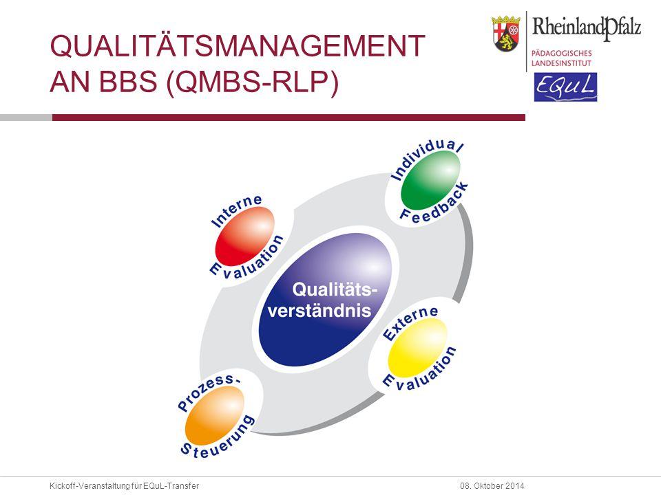 Qualitätsmanagement an BBS (QmbS-RLP)