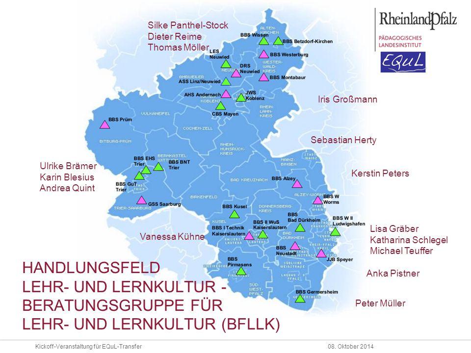 handlungsfeld lehr- und Lernkultur -