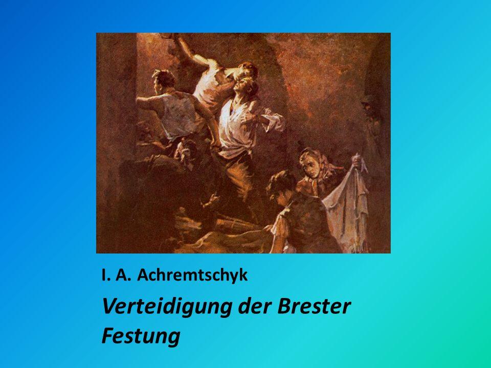Verteidigung der Brester Festung
