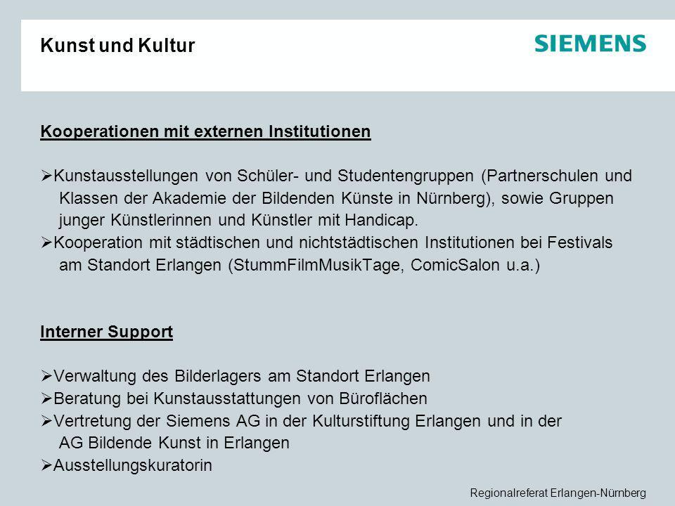 Kunst und Kultur Kooperationen mit externen Institutionen