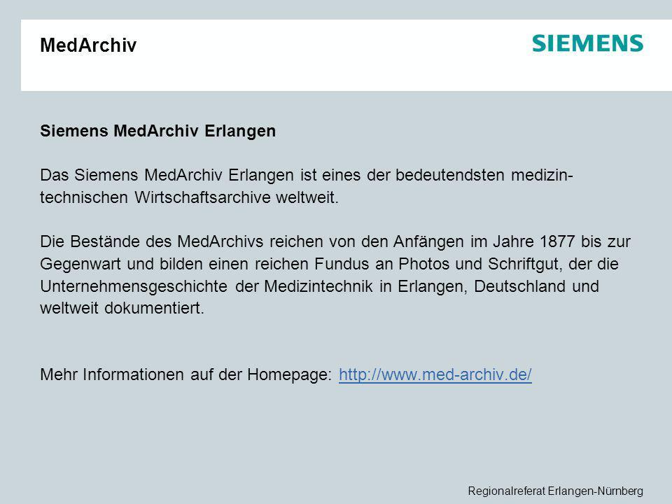 MedArchiv Siemens MedArchiv Erlangen