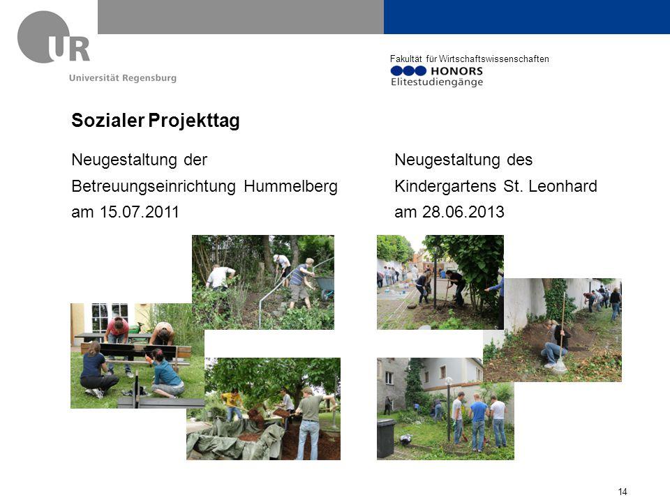 Sozialer Projekttag Neugestaltung der Betreuungseinrichtung Hummelberg am 15.07.2011.