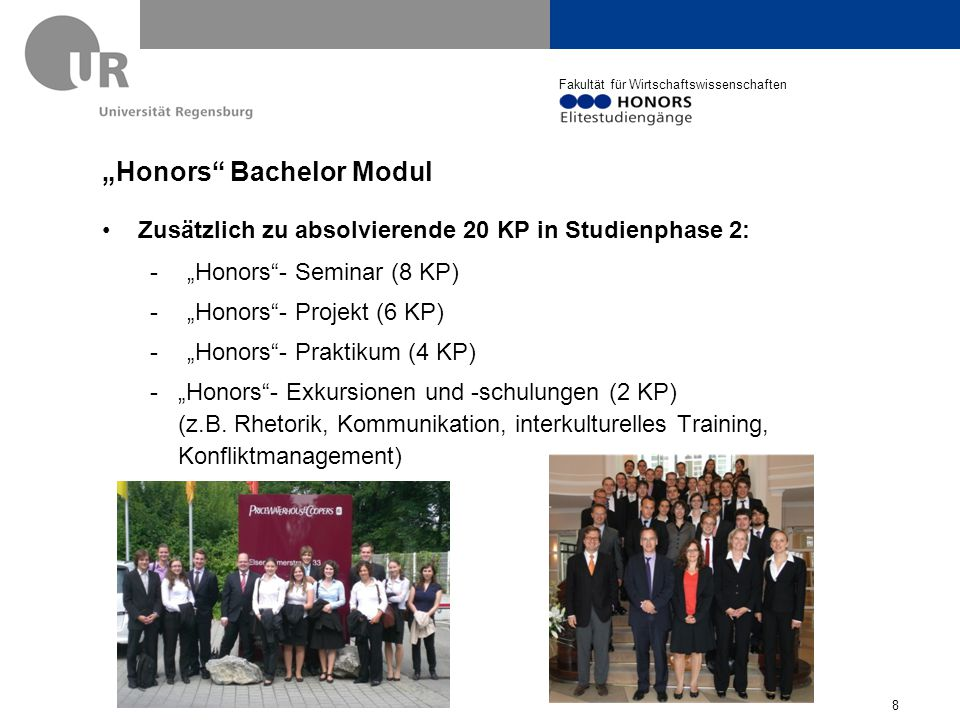 """Honors Bachelor Modul"