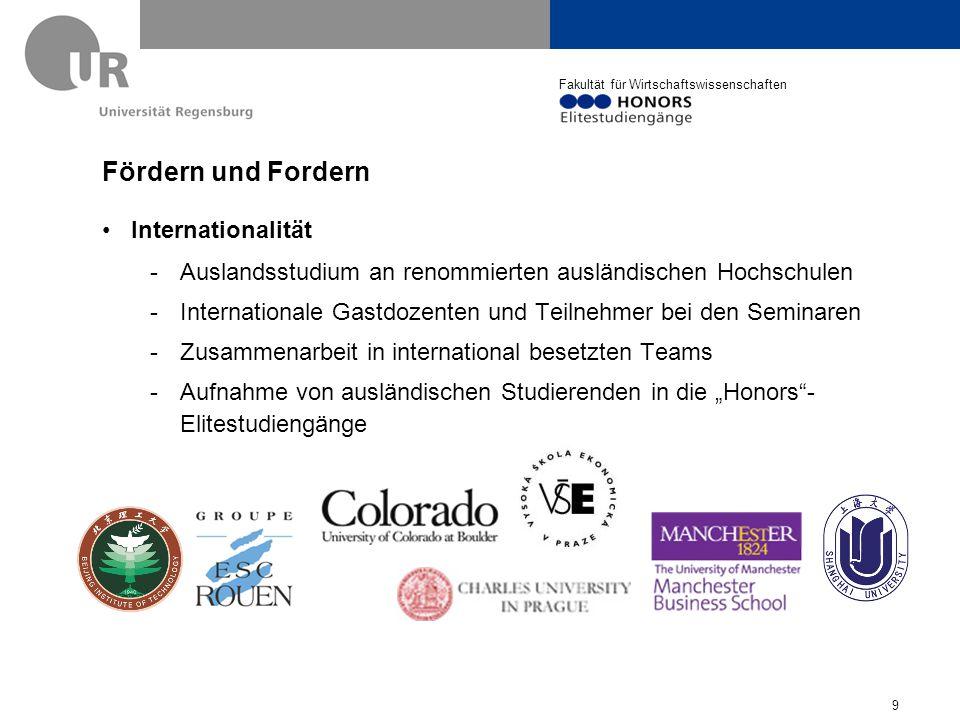 Fördern und Fordern Internationalität