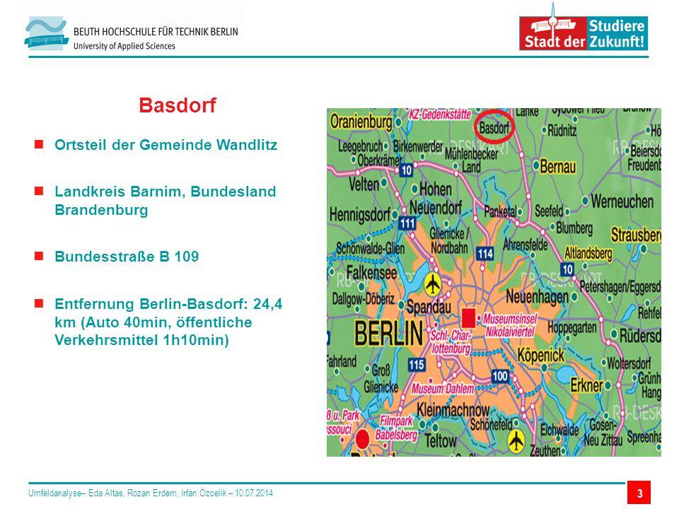 Basdorf Ortsteil der Gemeinde Wandlitz