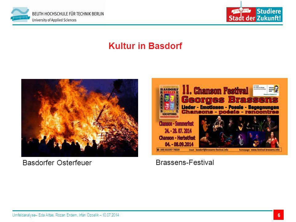 Kultur in Basdorf Basdorfer Osterfeuer Brassens-Festival