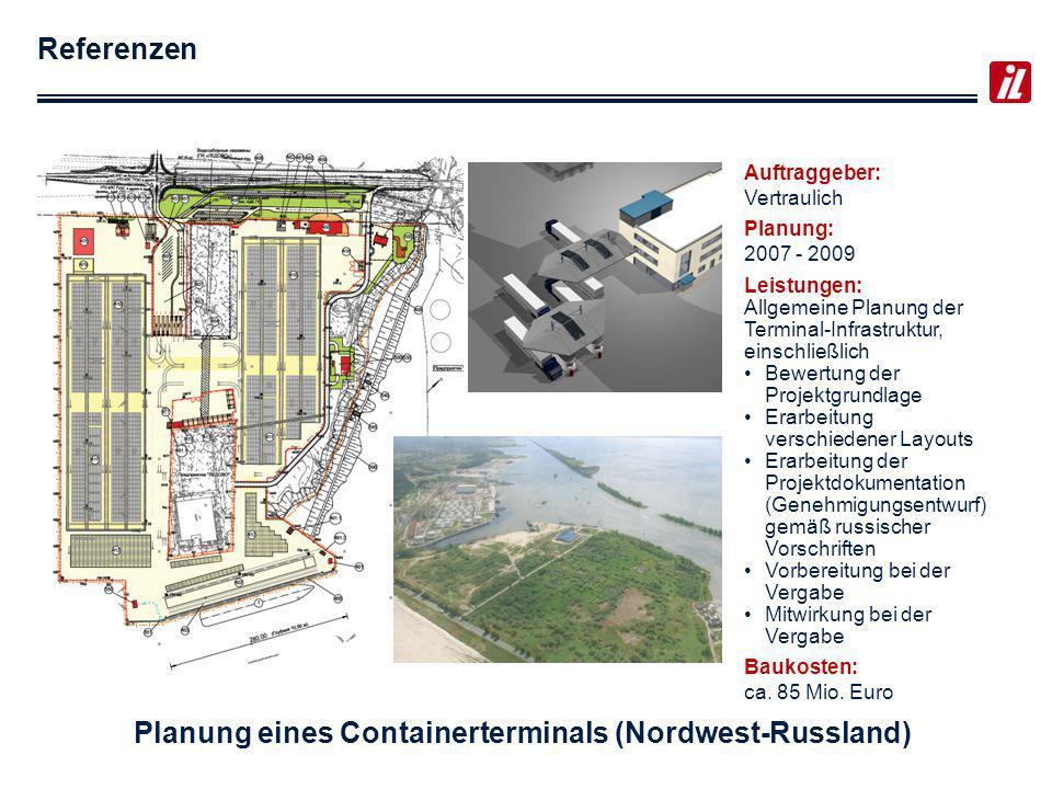 Planung eines Containerterminals (Nordwest-Russland)