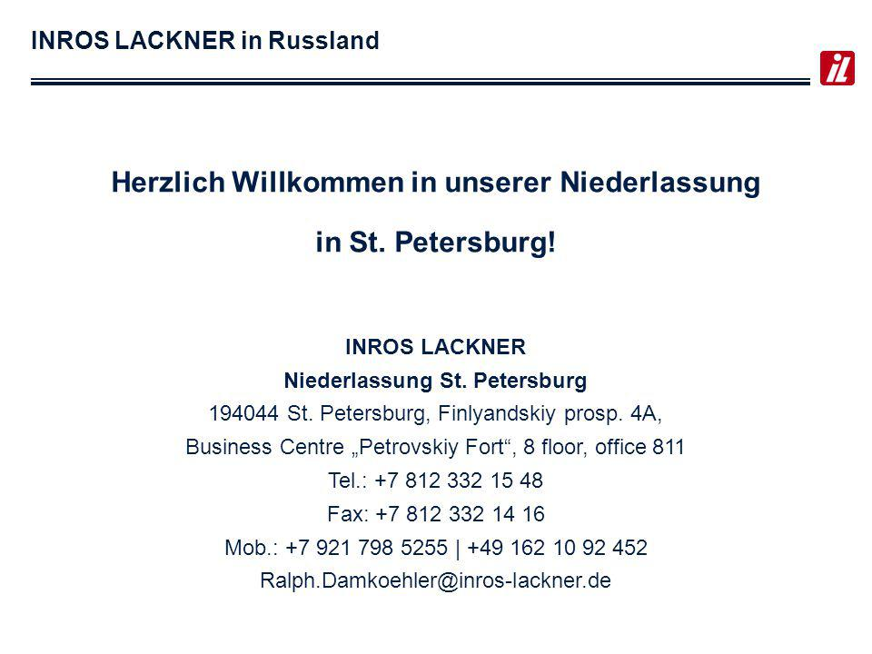 INROS LACKNER in Russland