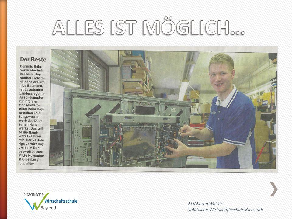 ALLES IST MÖGLICH… BLK Bernd Walter