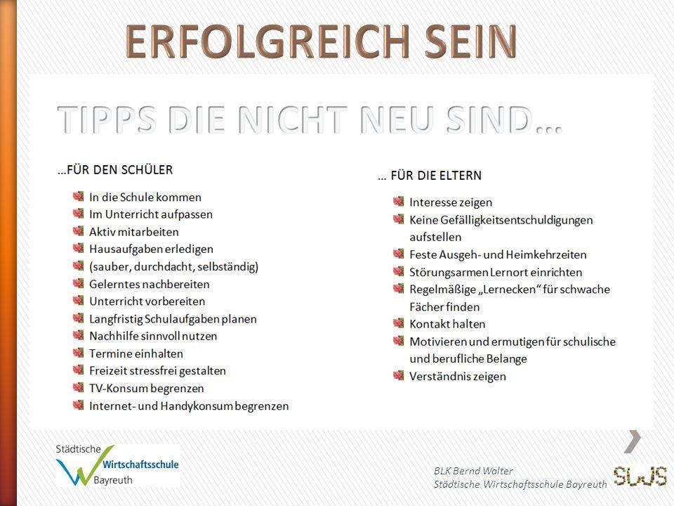 ERFOLGREICH SEIN BLK Bernd Walter