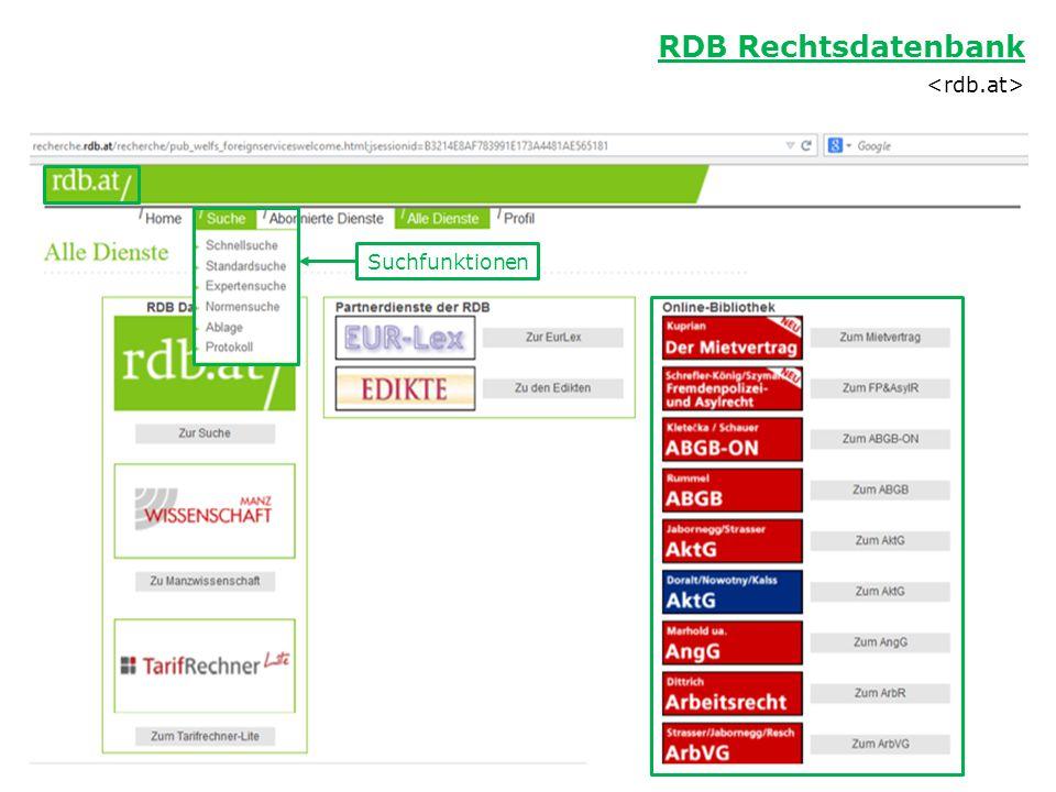 RDB Rechtsdatenbank <rdb.at>