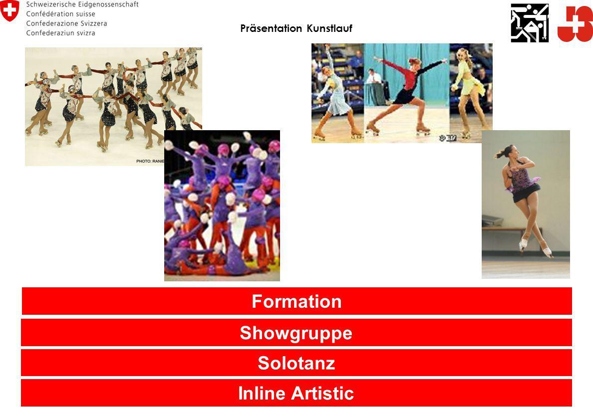 Präsentation Kunstlauf