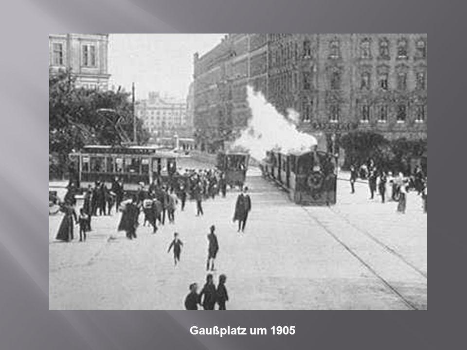 Gaußplatz um 1905