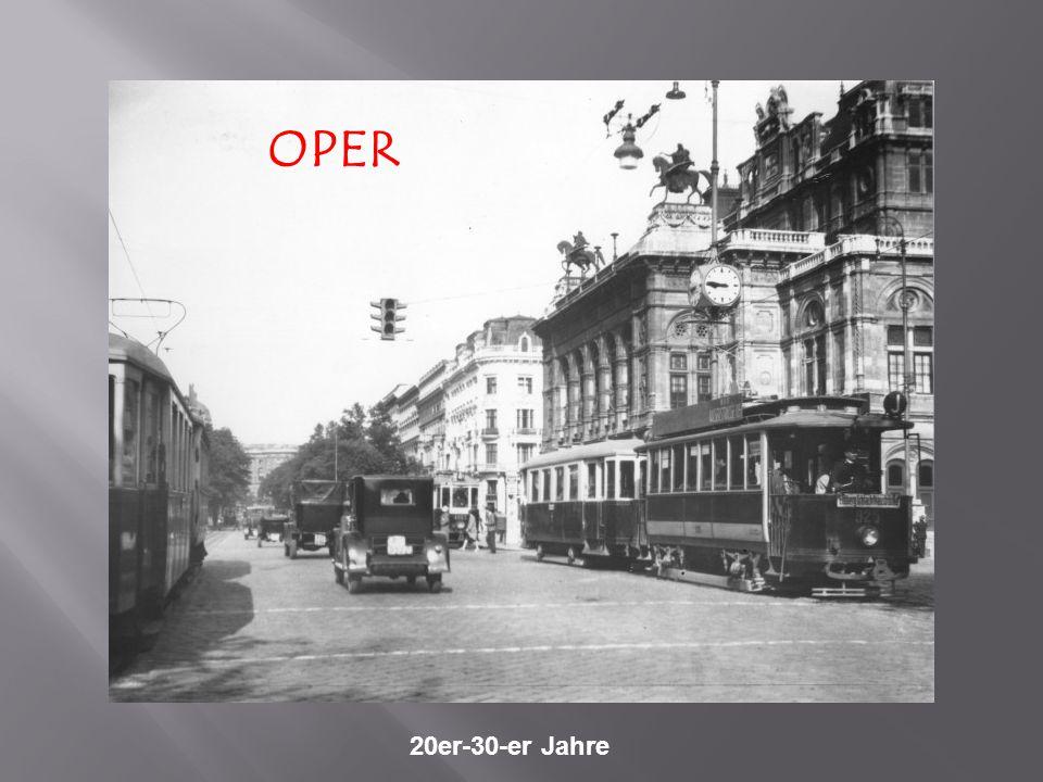 OPER 20er-30-er Jahre