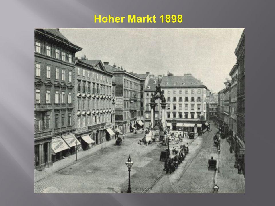Hoher Markt 1898