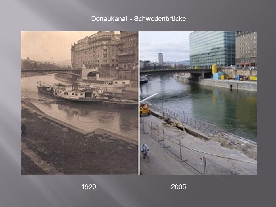 Donaukanal - Schwedenbrücke
