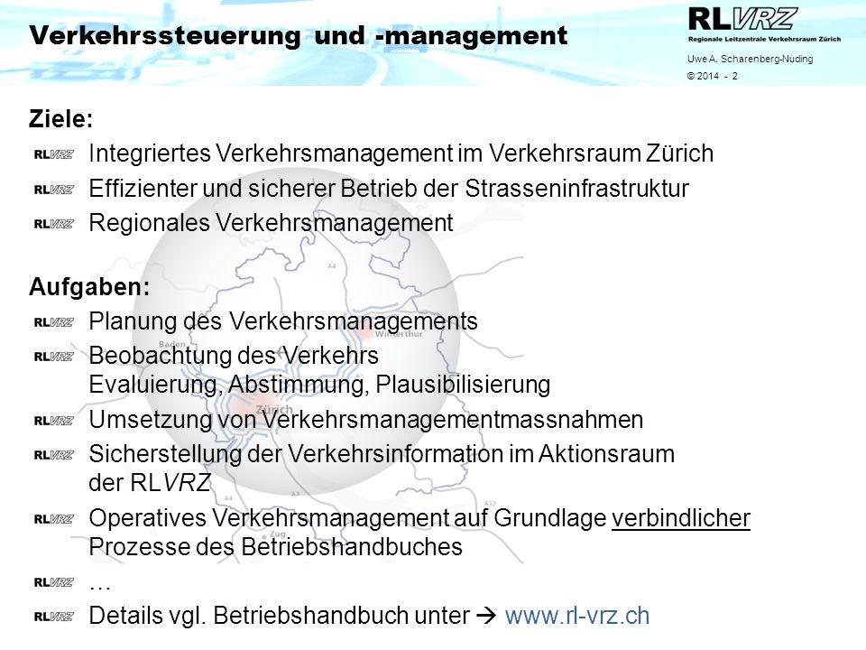 Verkehrssteuerung und -management