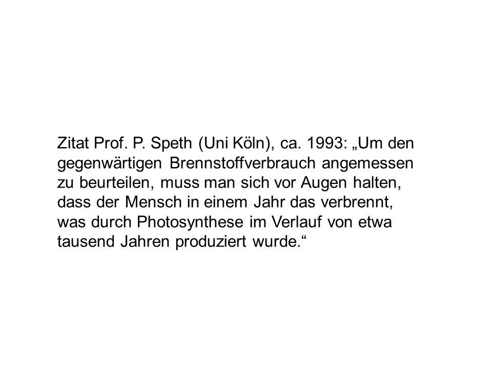 Zitat Prof. P. Speth (Uni Köln), ca
