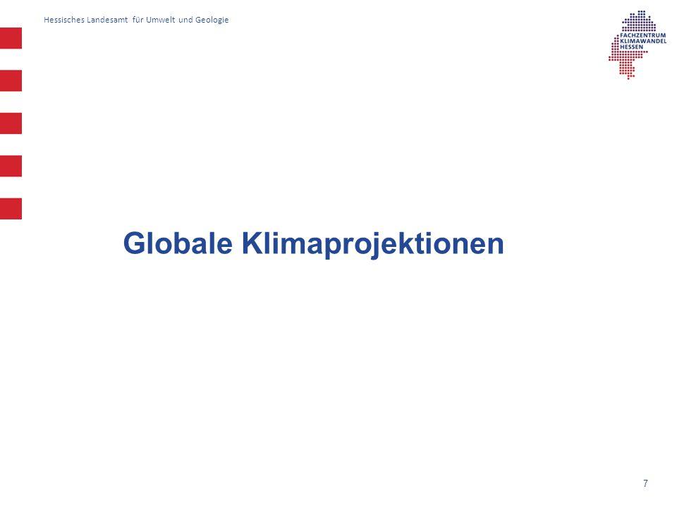 Globale Klimaprojektionen