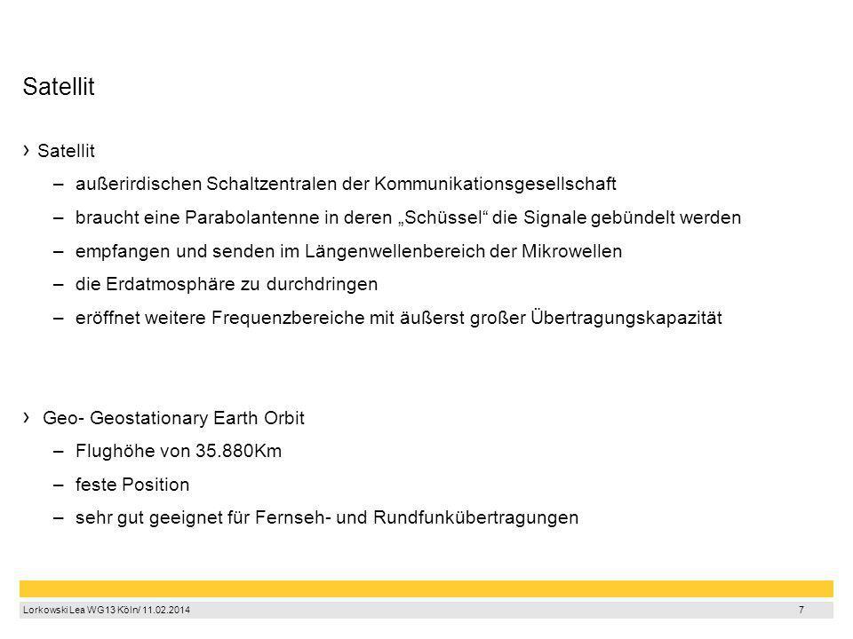 Satellit Satellit. außerirdischen Schaltzentralen der Kommunikationsgesellschaft.