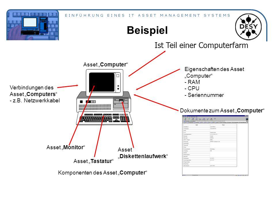 """Beispiel Ist Teil einer Computerfarm Asset """"Computer"""