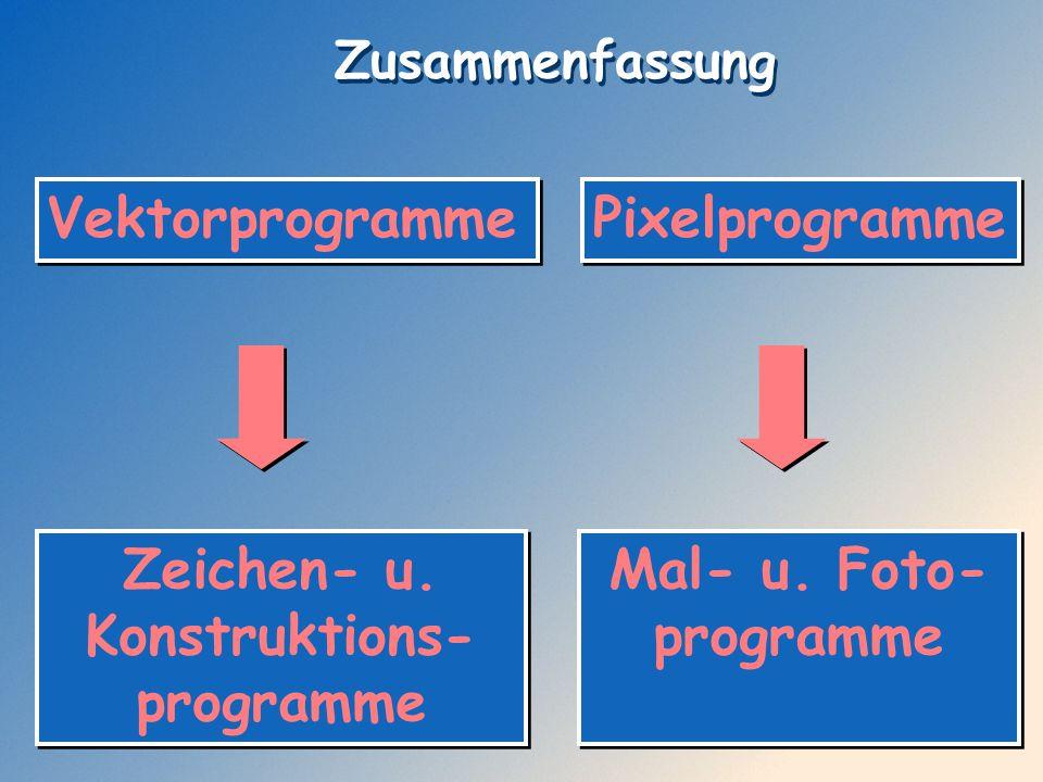 Zeichen- u. Konstruktions-programme