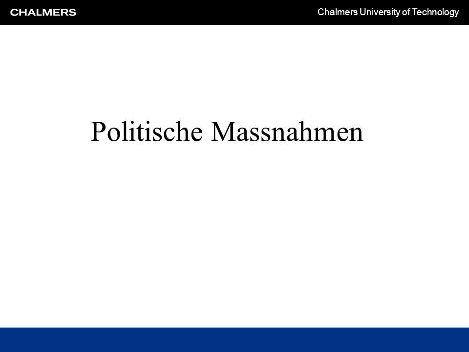 Politische Massnahmen