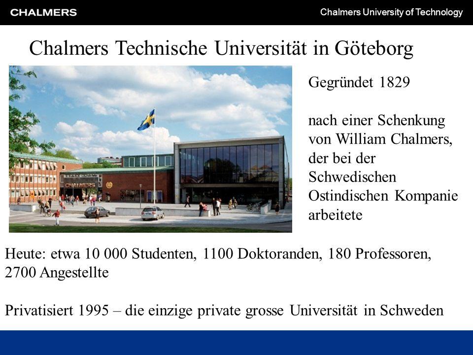 Chalmers Technische Universität in Göteborg
