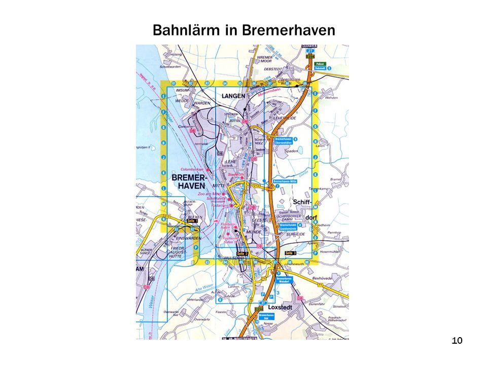 Bahnlärm in Bremerhaven