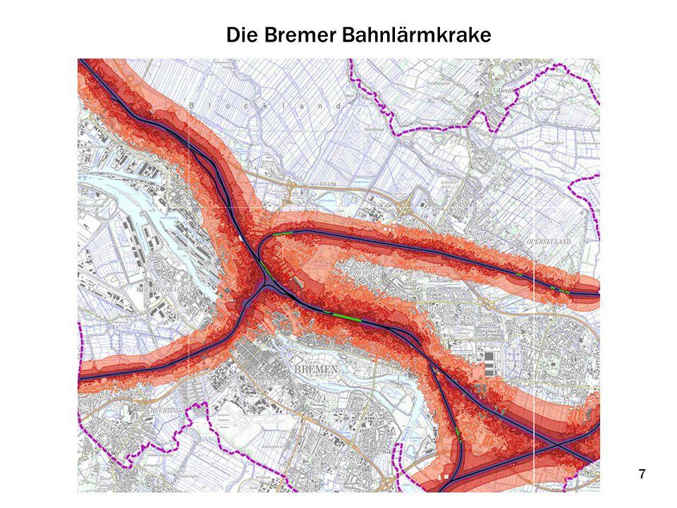 Die Bremer Bahnlärmkrake