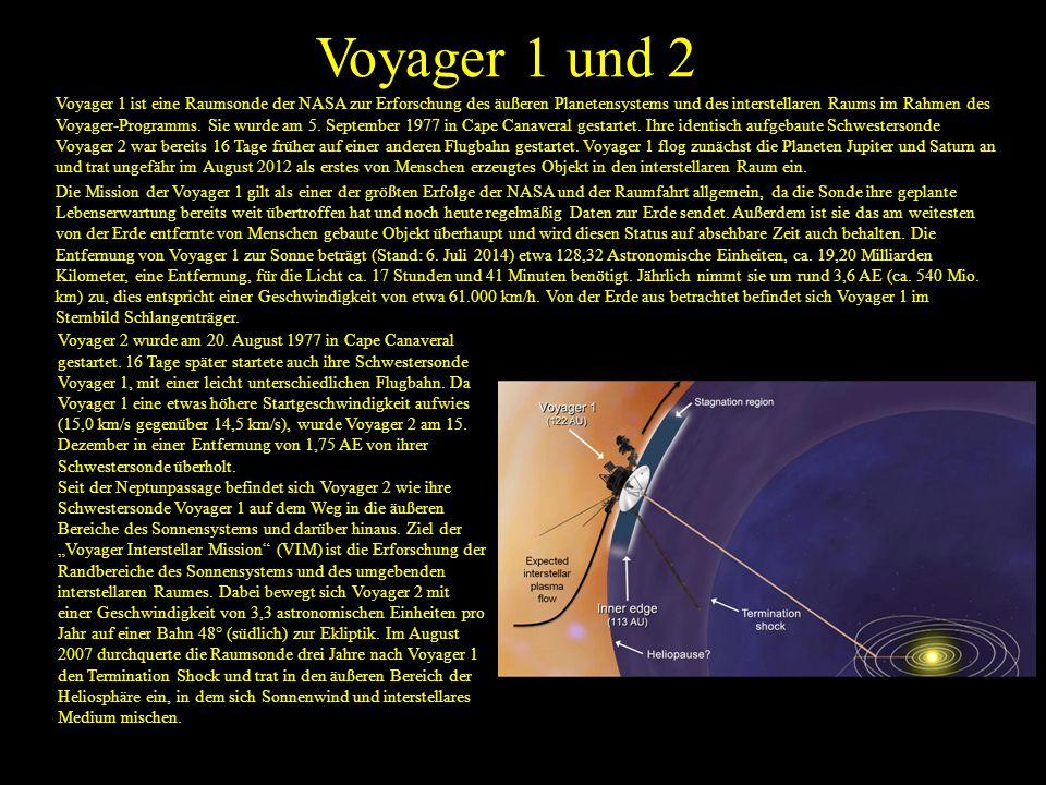 Voyager 1 und 2