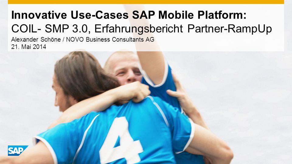 Alexander Schöne / NOVO Business Consultants AG 21. Mai 2014