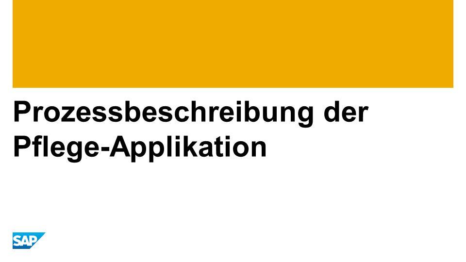 Prozessbeschreibung der Pflege-Applikation