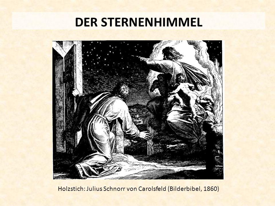 Holzstich: Julius Schnorr von Carolsfeld (Bilderbibel, 1860)