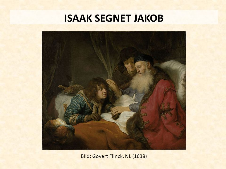 Bild: Govert Flinck, NL (1638)