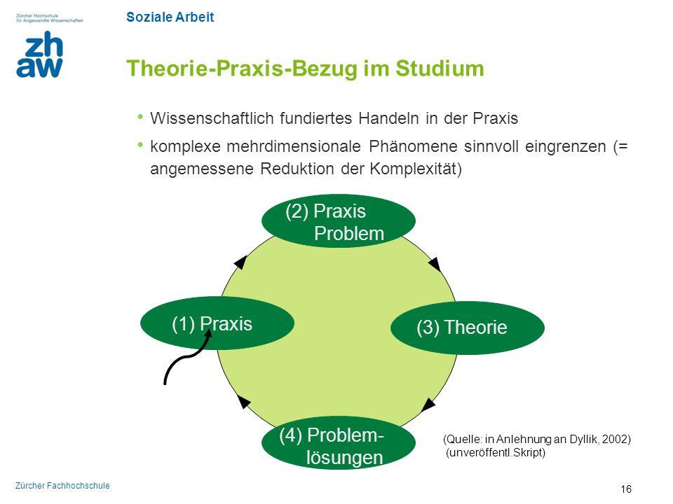 Theorie-Praxis-Bezug im Studium