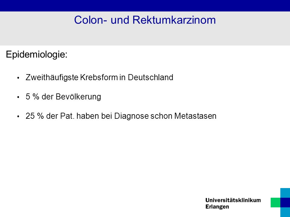 Colon- und Rektumkarzinom