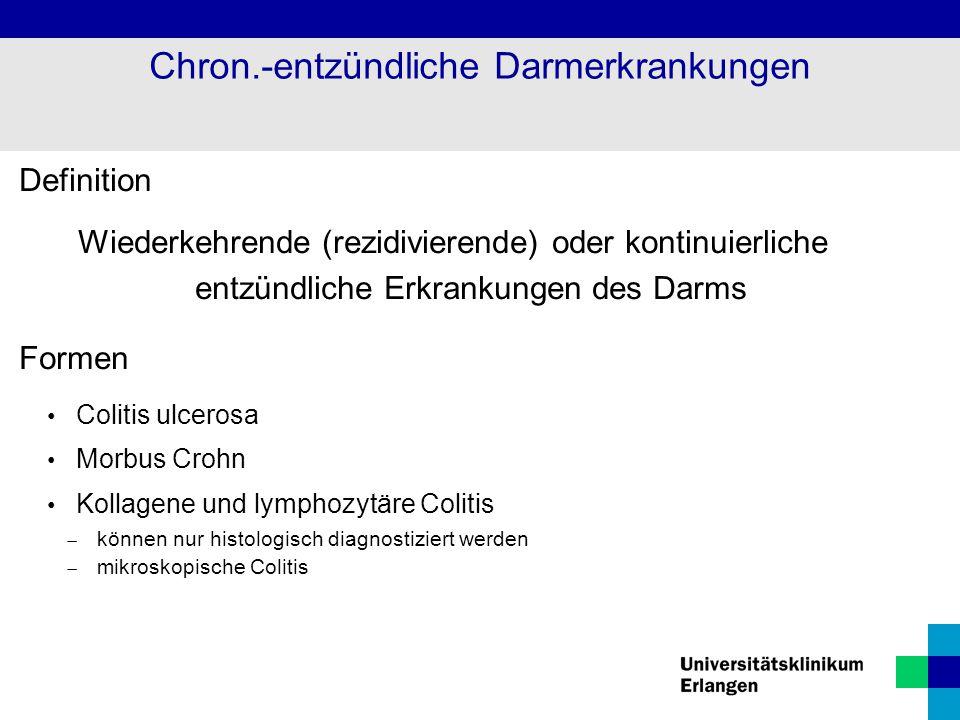 Chron.-entzündliche Darmerkrankungen