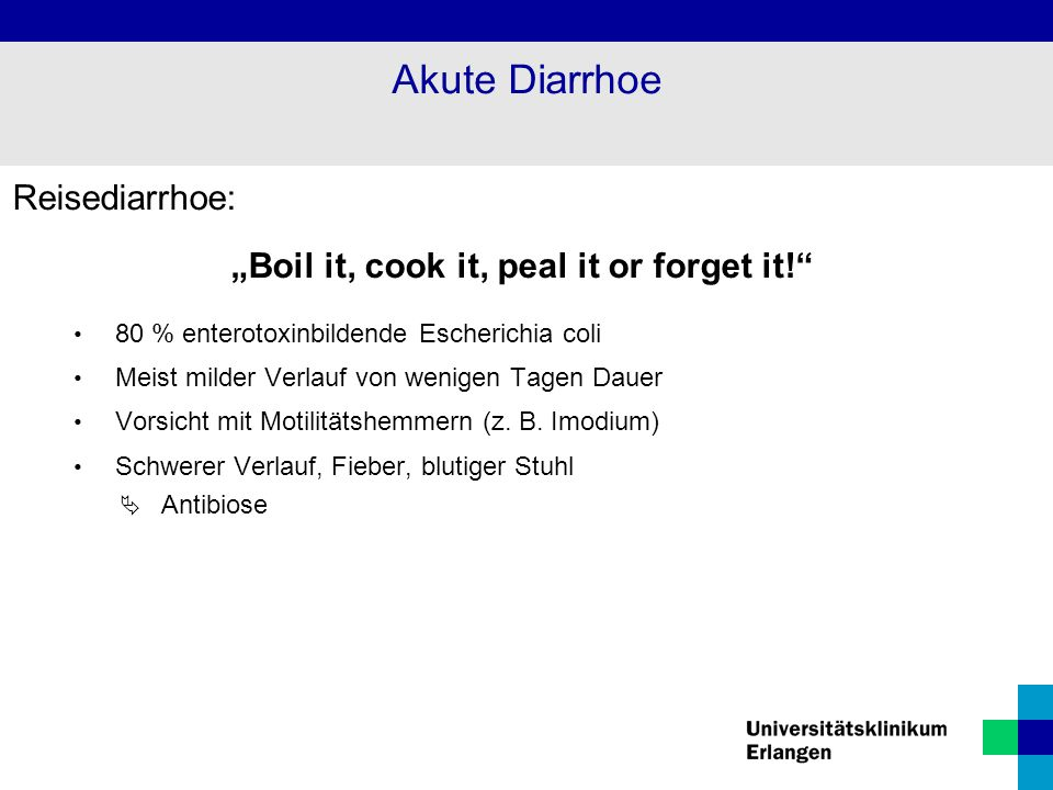 """Boil it, cook it, peal it or forget it!"