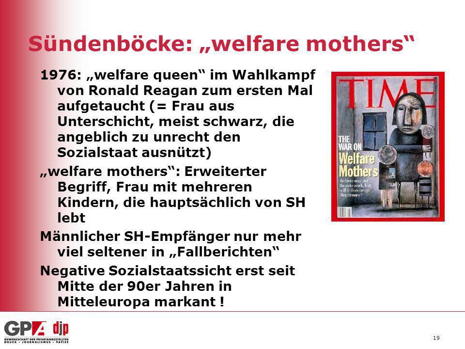 "Sündenböcke: ""welfare mothers"