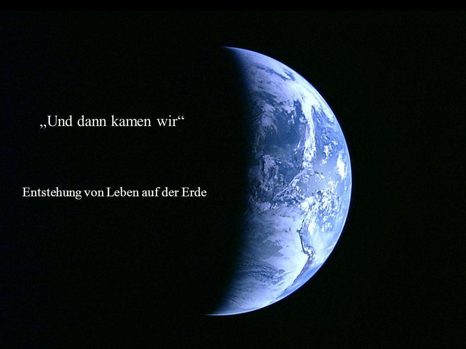 """""""Und dann kamen wir Entstehung von Leben auf der Erde"""