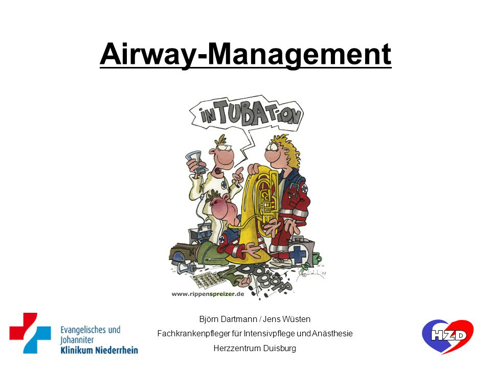 Airway-Management kopf Björn Dartmann / Jens Wüsten